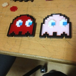 Pac-Man Ghosts