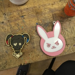 Harley Quinn Logo (Suicide Squad) and D'Va Rabbit